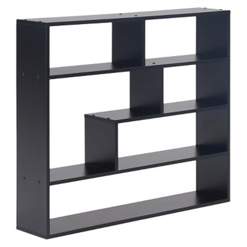 Danya B Large Rectangular Shelf Unit Black