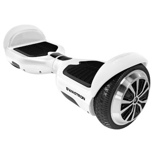 SWAGTRON-T1, SELF BALANCING HOVERBOARD, WHITE