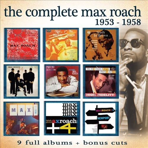 The Complete Max Roach 1953-1958 [CD]