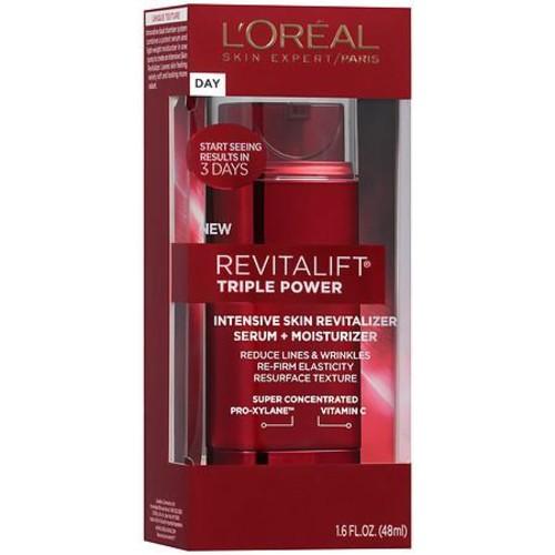 L'Oreal Paris Revitalift Triple Power Intensive Skin Serum + Moisturizer