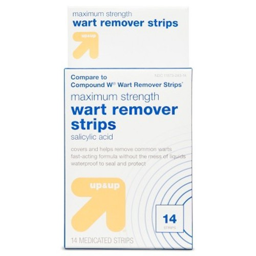 Wart Remover Strips - 14 ct - up & up