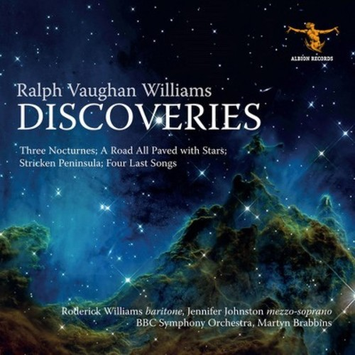 Roderick Williams - Vaughan Williams:Discoveries (CD)