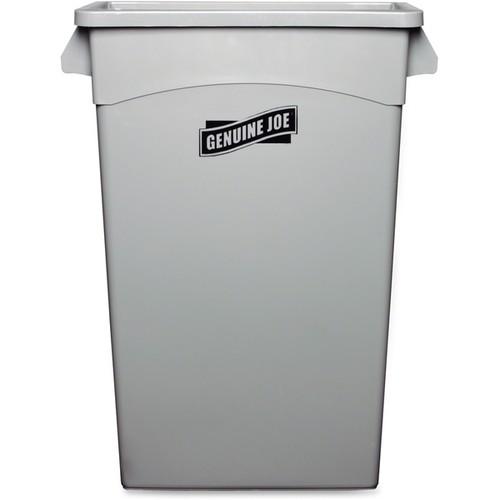 Genuine Joe Space-saving Waste Container