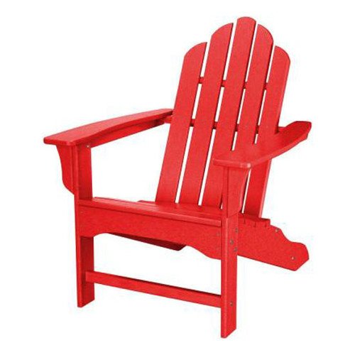 Hanover All Weather Adirondack Chair - Sunset Red