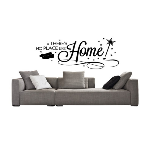 No Place Like Home Magic Wall Art Sticker Decal