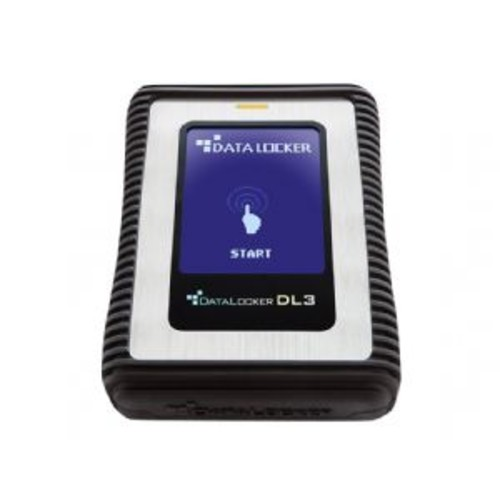 DataLocker 3 - Solid state drive - encrypted - 512 GB - external ( portable ) - USB 3.0 - 256-bit AES-XTS