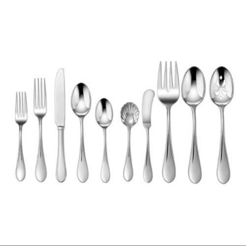 Cuisinart Cf-01-i45 Cutlery Set - 45 Piece[s] - Dishwasher Safe - Stainless Steel - Silver (cf-01-i45)