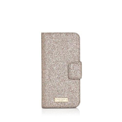 Glitter Wrap Folio iPhone 7/8 Case