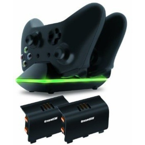 dreamGEAR Xbox One Dual Charging Dock. Charge up to two Xbox One Controllers Simultaneously
