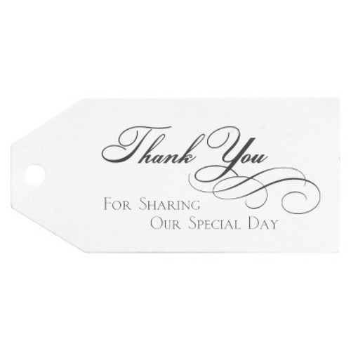 Hortense B. Hewitt Wedding Accessories Thank You Favor Cards, 25-Pack [Thank You]