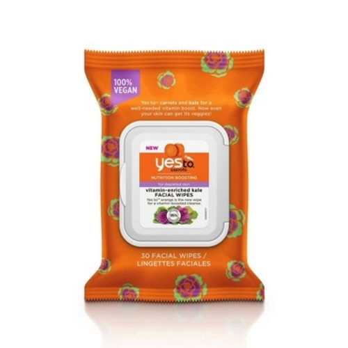 Yes To Carrots & Kale Face Wipes - 30ct