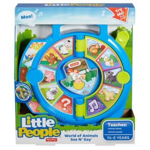 Fisher -Price Little People World of Animals See 'n Say Playset