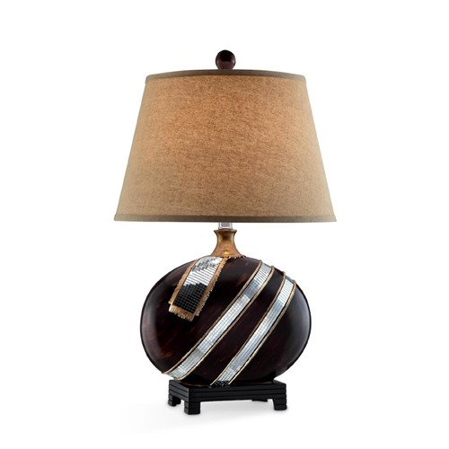 Ore International 28.5 Inch H Kukui Table Lamp