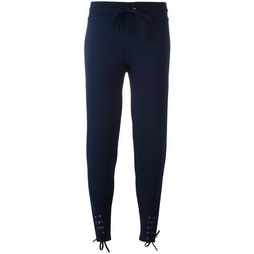 3.1 PHILLIP LIM Lace-Up Detail Track Pants