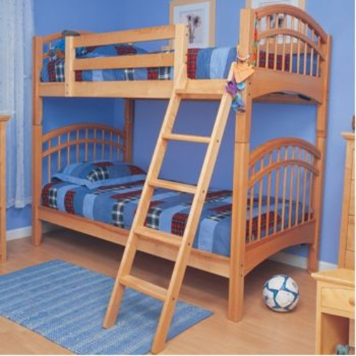Mckenzie Natural Twin-Over-Twin Bunkbed