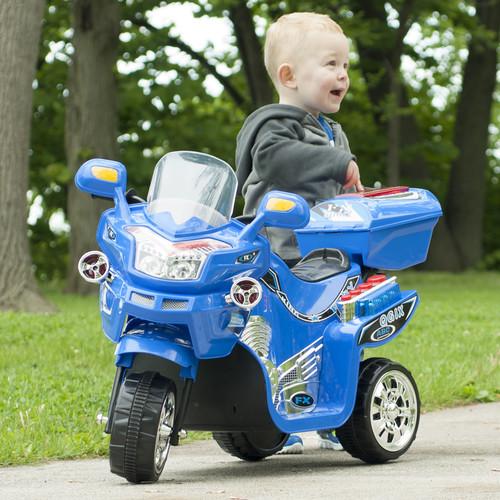 Lil' Rider 3 Wheel Battery Powered FX Sport Bike - Blue