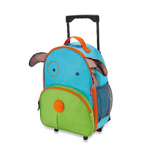 SKIP*HOP Zoo Little Kid Rolling Luggage in Dog