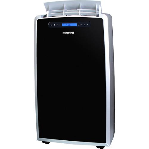 Honeywell - 14,000 BTU Portable Air Conditioner and 12,000 BTU Heater - Black/Silver
