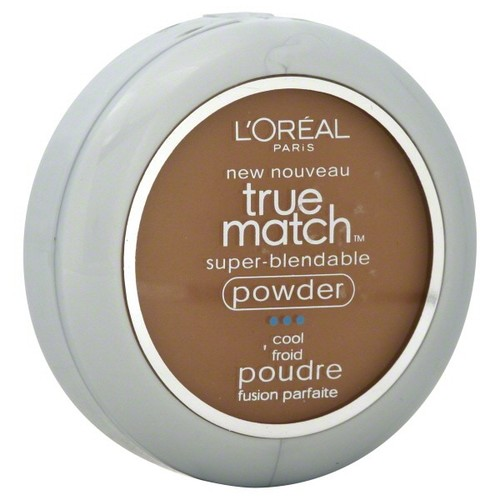 L'Oreal True Match Super-Blendable Powder, Cool, Cocoa C8, 0.33 oz (9.5 g)