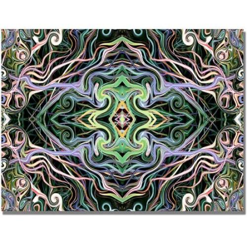 Kathie McCurdy 'Kaleiodoscope' Canvas Art