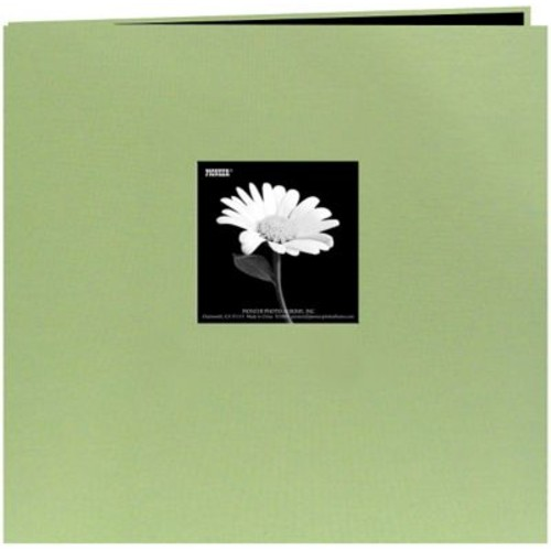 Pioneer Book Cloth Cover Postbound Albums With Window