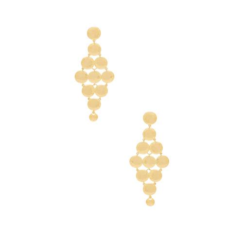 gorjana Gypset Tiered Earrings in G