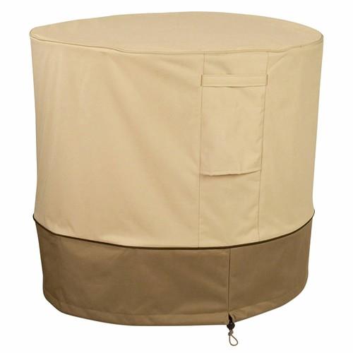 Classic Accessories Veranda Air Conditioner Cover, Round [Pebble, ROUND]