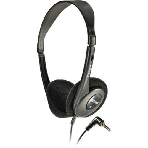 Maxell HP-100 Stereo Dynamic Open Air On-Ear Headphone, Black (190319)