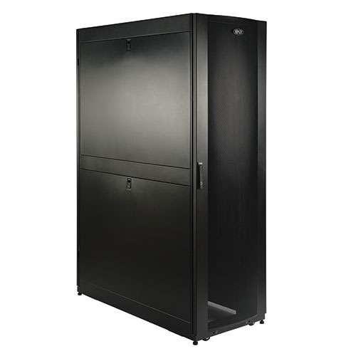 Tripp Lite SmartRack 48U Enclosure Cabinet - 3000lb Load Capacity 48 Deep With Doors And Sides - SR48UBDP