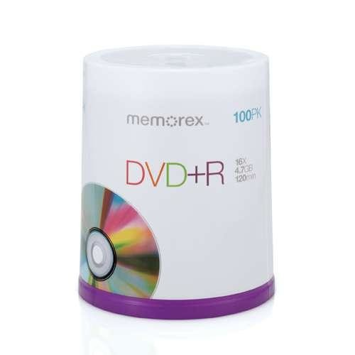 Memorex 16X DVD-R 100-Pack Spindle [100 pack DVD-R Spindle]