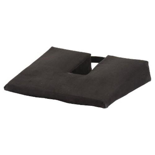 Nova Wedge Coccyx Gel Foam Cushion - Black