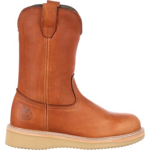 Georgia Boot Mens Leather 10