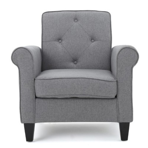 Isaac Tufted Club Chair - Christopher Knight Home