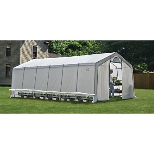 ShelterLogic GrowIt 12 Ft. W x 24 Ft. D Greenhouse