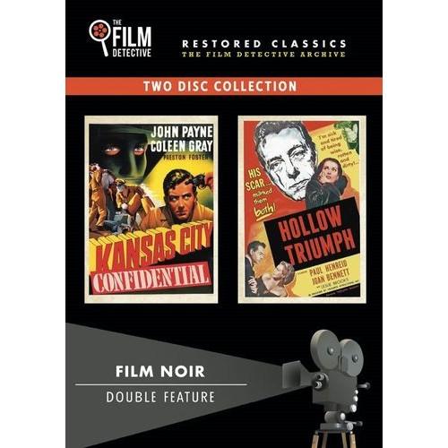 Film Noir Double Feature: Kansas City Confidential/Hollow Triumph [2 Discs] [DVD]