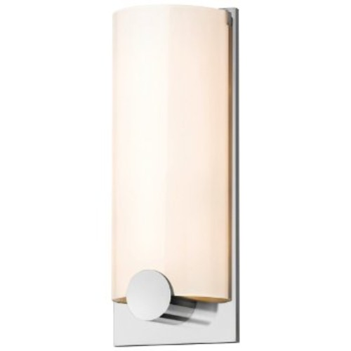 Tangent Round Wall Sconce [Finish : Polished Chrome]