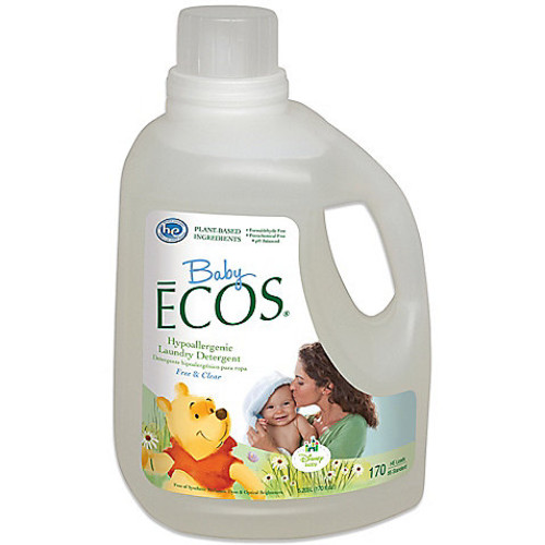 Disney Baby Baby ECOS Free & Clear 170-Ounce Laundry Detergent
