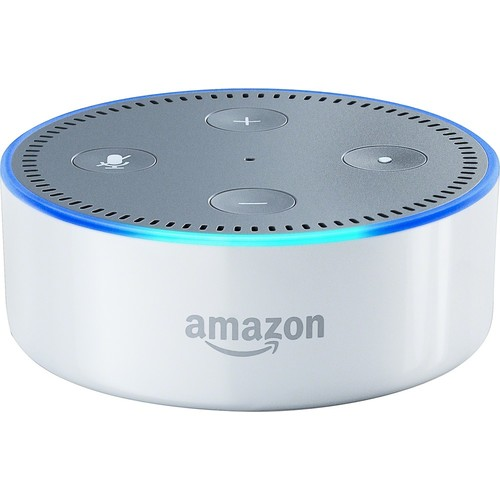Amazon - Echo Dot (2nd Generation) - White