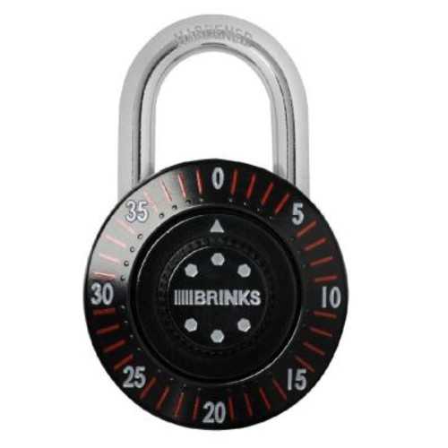 Brinks Home Security Dial Combination Safe Lock