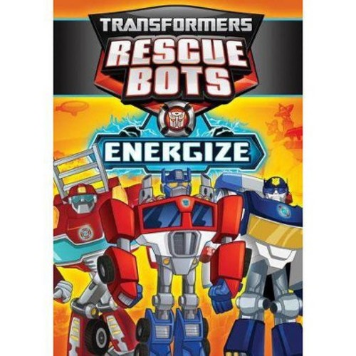 Transformers Rescue Bots: Energize (DVD)