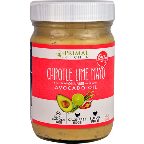 Primal Kitchen Mayo with Avocado Oil Chipotle Lime -- 12 oz