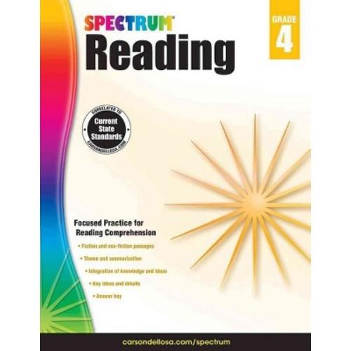 Spectrum Reading, Grade 4 (Workbook) (Paperback)