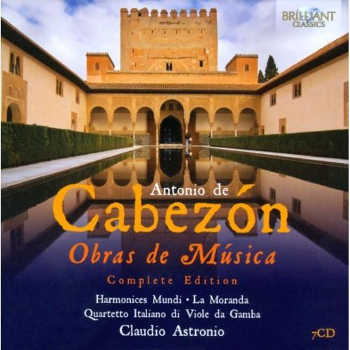 Cabezon:obras De Musica