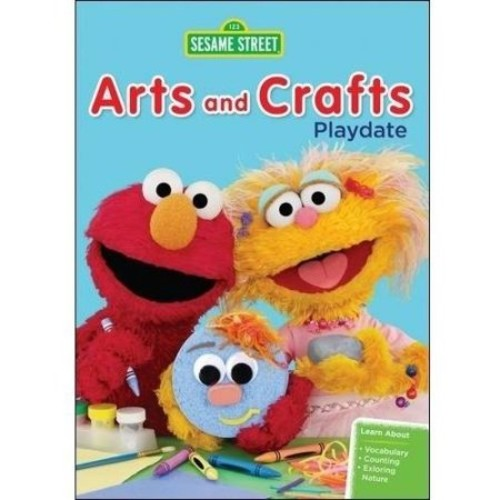 Sesame Street: Arts and Crafts Playdate - (3 Disc) - DVD (Eng) 2013