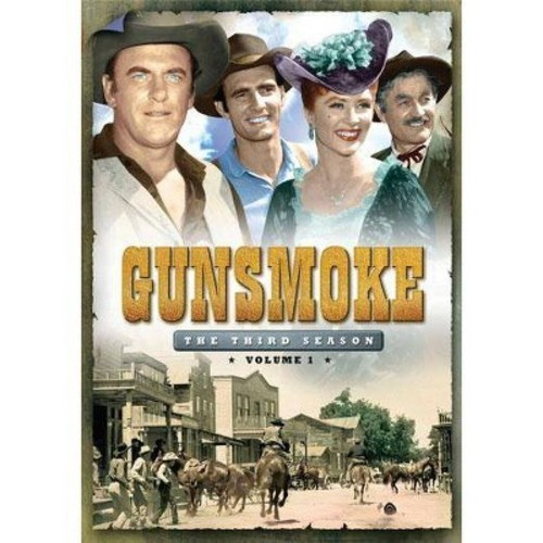 Gunsmoke: The Third Season, Vol. 1 [3 Discs]