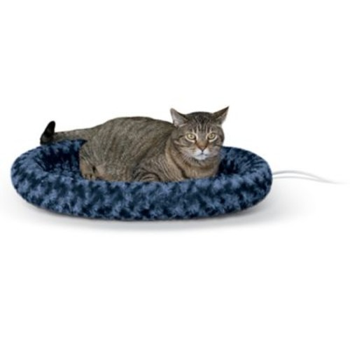 K&H Manufacturing Thermo Kitty Bolster; Navy