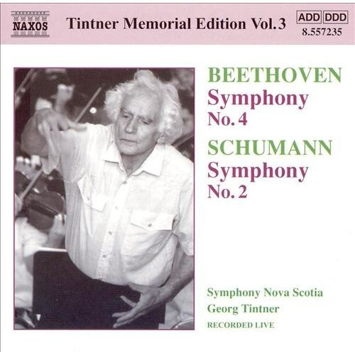 Beethoven: Symphony No. 4; Schumann: Symphony No. 2 [CD]