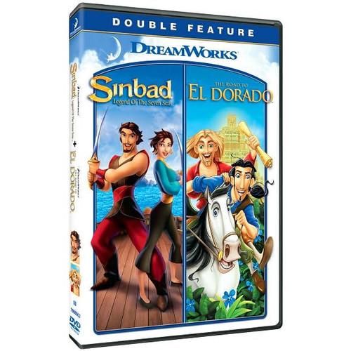 Sinbad: Legend of the Seven Seas/Road to El Dorado (P&S) (2 Discs) (dvd_video)