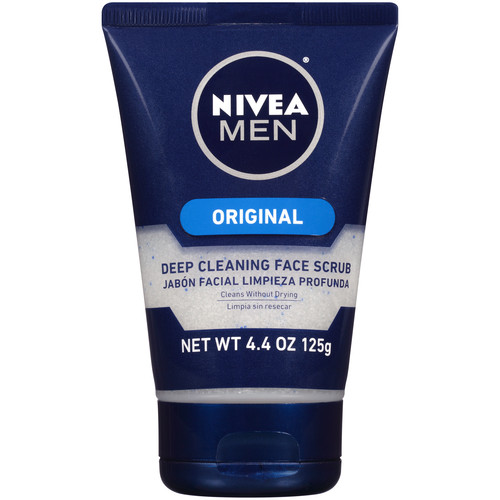 Nivea For Men Face Scrub, Energizing, 4.4 oz (125 g)