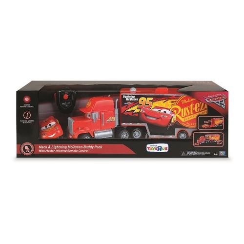 Disney Pixar Cars 3 Remote Control Car - Mack and Lightning McQueen Buddy Pack